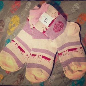 Lavender Crimson Dream Socks - 3 pack